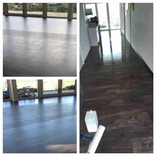 PVC vloer schoonmaken